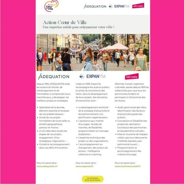 Campagne Action Coeur de Ville